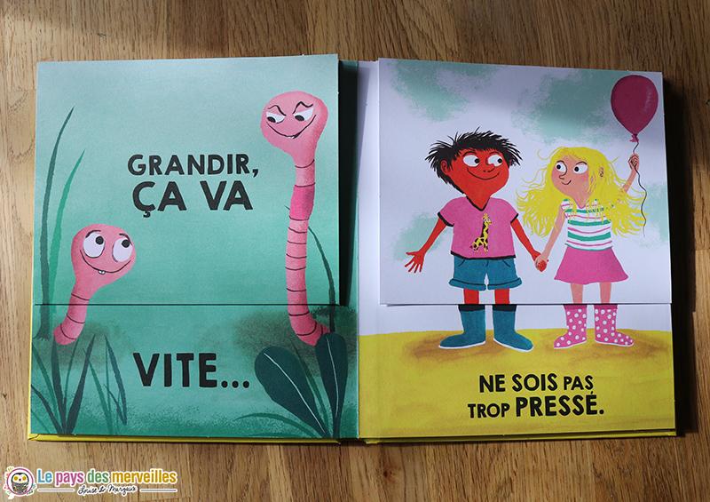 Livre enfant avec pages à déplier