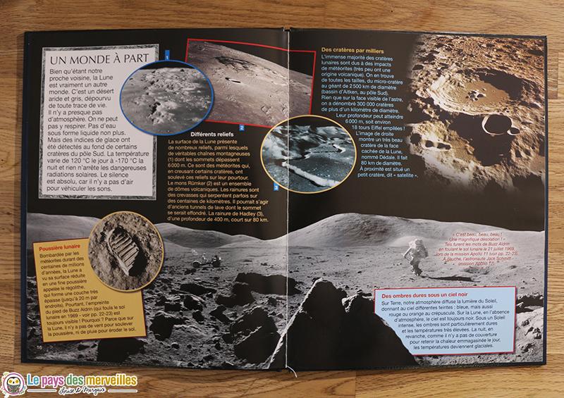 Documentaire enfant sur la Lune