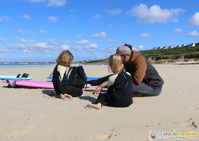 Soul surfing Skol plage de Gwendrez