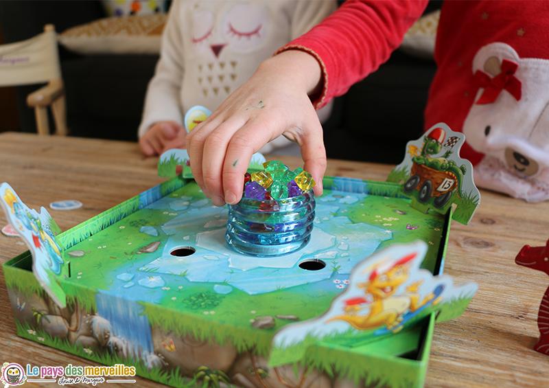 Design du jeu trésor de glace