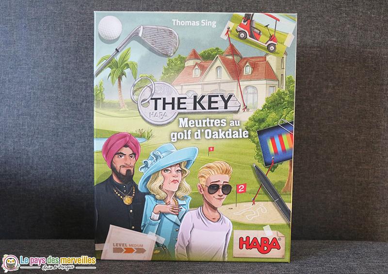 Jeu The key meurtre au golf d'Oakdale
