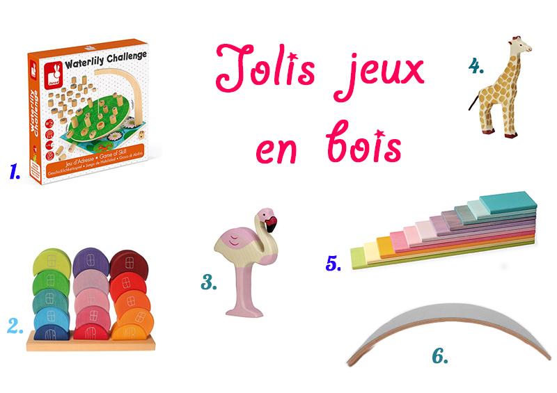 Idées cadeaux jeux en bois pour une petite fille de 5 ans