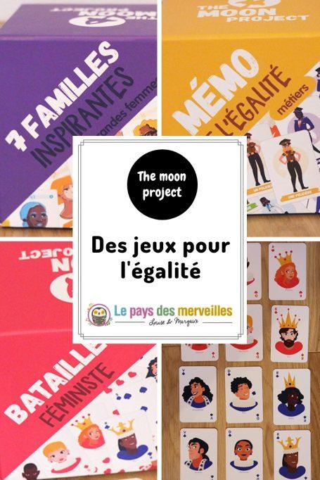 The moon project, des jeux pour parler d'égalité avec les enfants