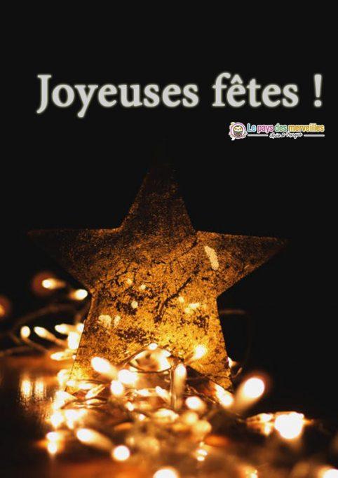 Image joyeuses fêtes