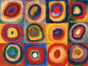 Cercles concentriques kandinsky