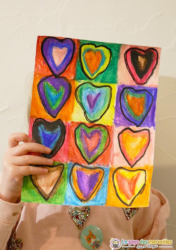 À la manière de Kandinsky en maternelle