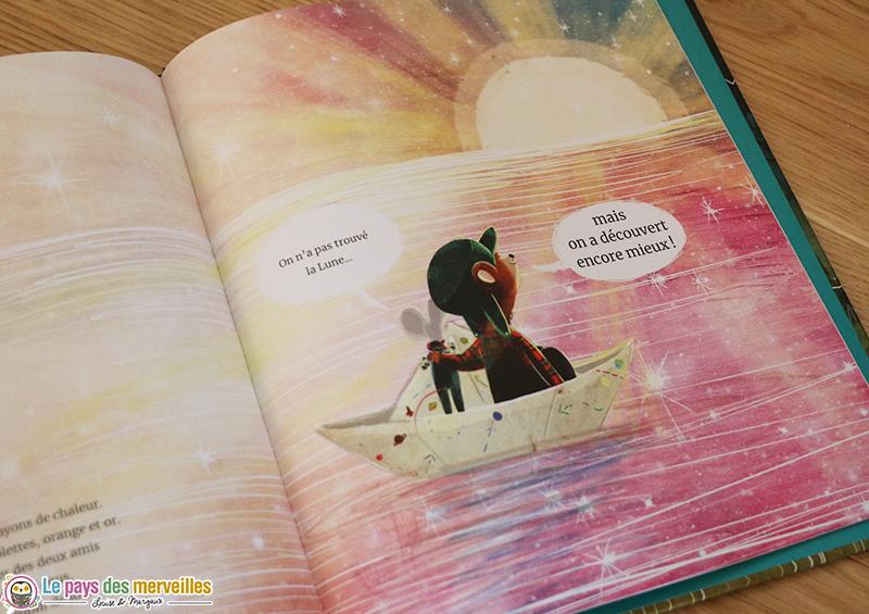 Fin du livre La fabuleuse route vers la Lune