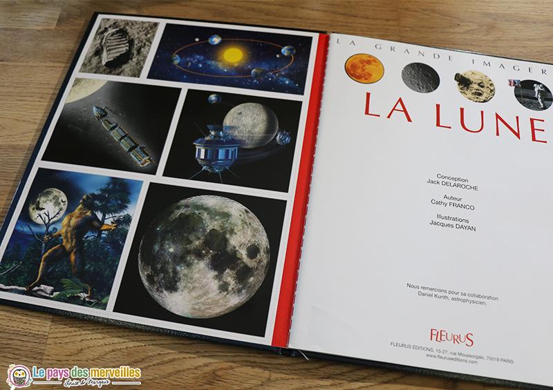 Cartes à collectionner sur le thème de la Lune