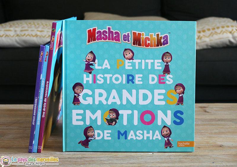 Masha et Michka, la petite histoire des grandes émotions de Masha
