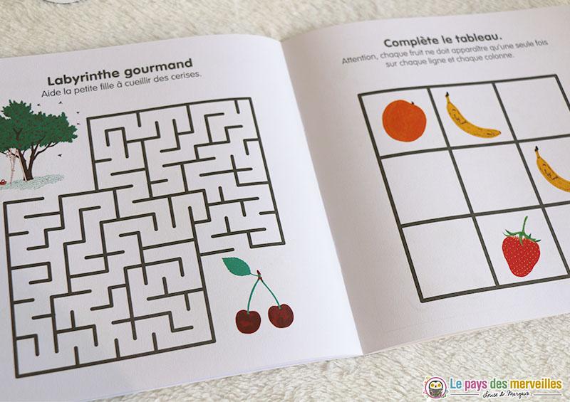 Labyrinthe gourmand et sudofruit