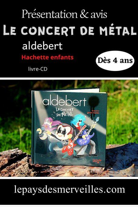 Livre-CD le concert de métal Aldebert
