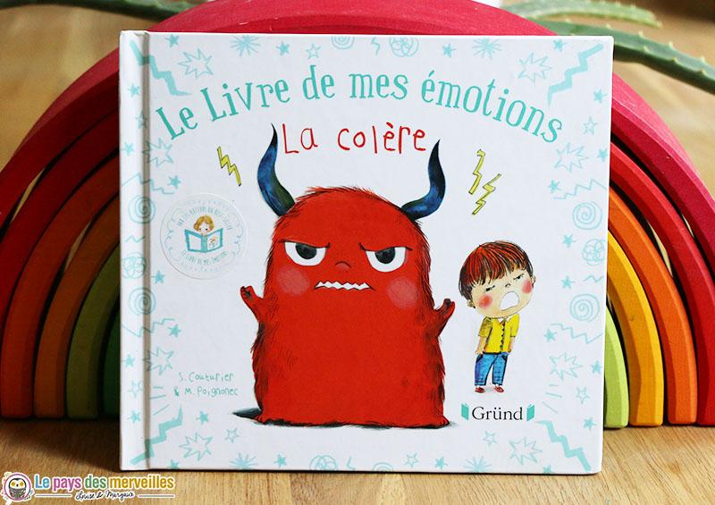 Le livre de mes émotions sur le thème de la colère