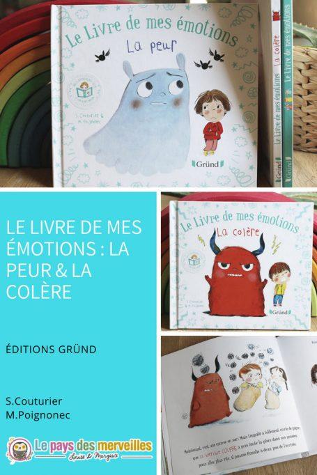 Collection de livres sur les émotions