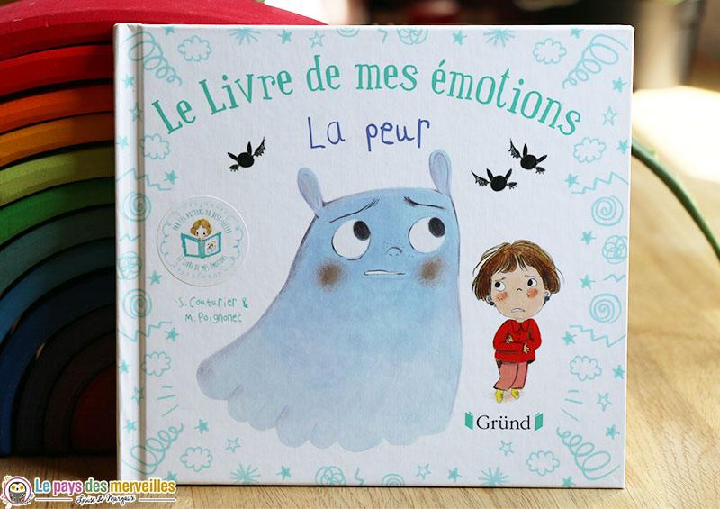 Le livre de mes émotions sur le thème de la peur