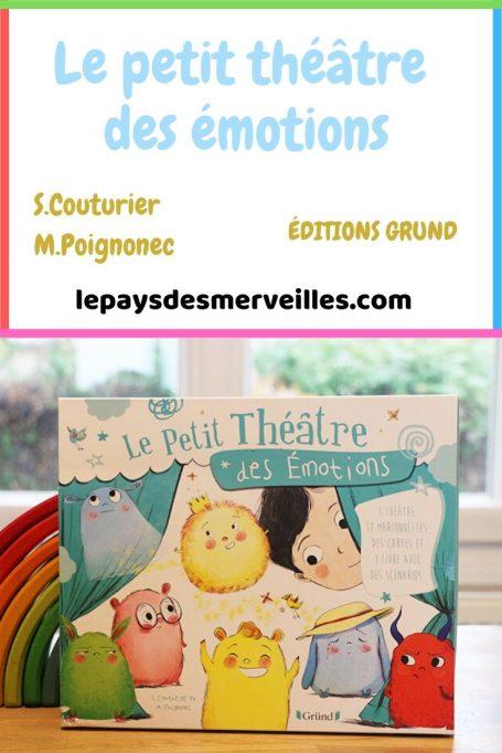 Le petit théâtre des émotions aux éditions Grund