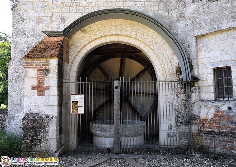 Puits du château d'Harcourt