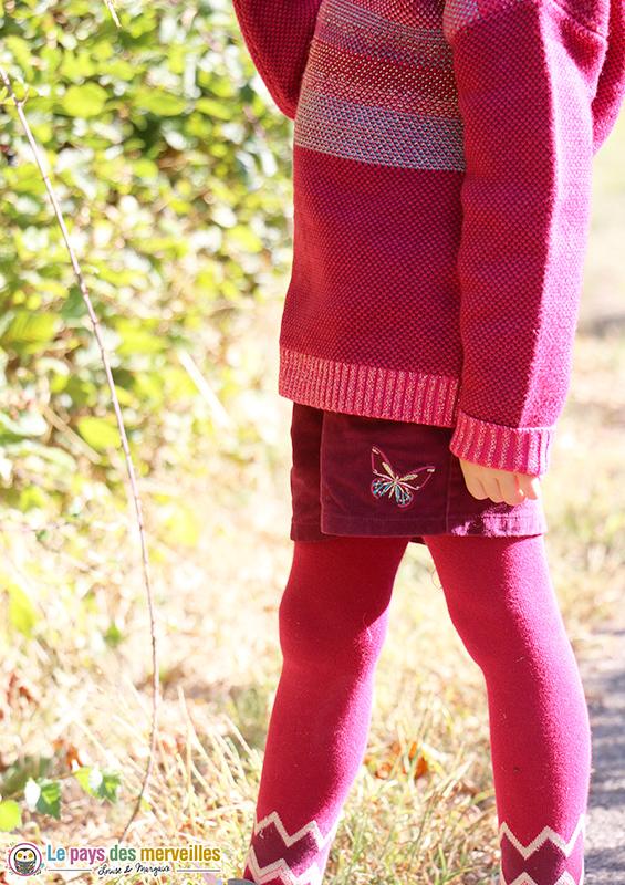 look automne Le voyage enchanté la compagnie des petits