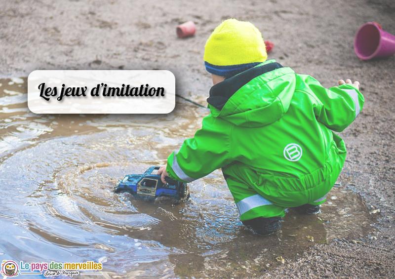 Les jeux et les jouets d'imitation chez l'enfant