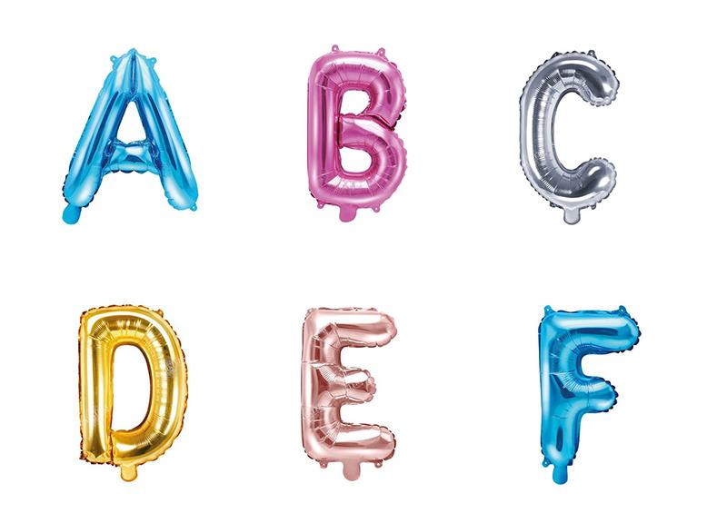 lettres ballon