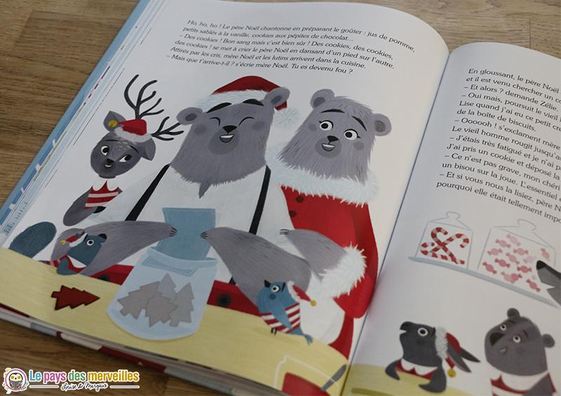 Livre de Noël pour enfant de 4 ans