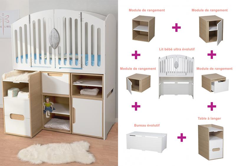 lit de b b volutif une solution durable pour les parents. Black Bedroom Furniture Sets. Home Design Ideas