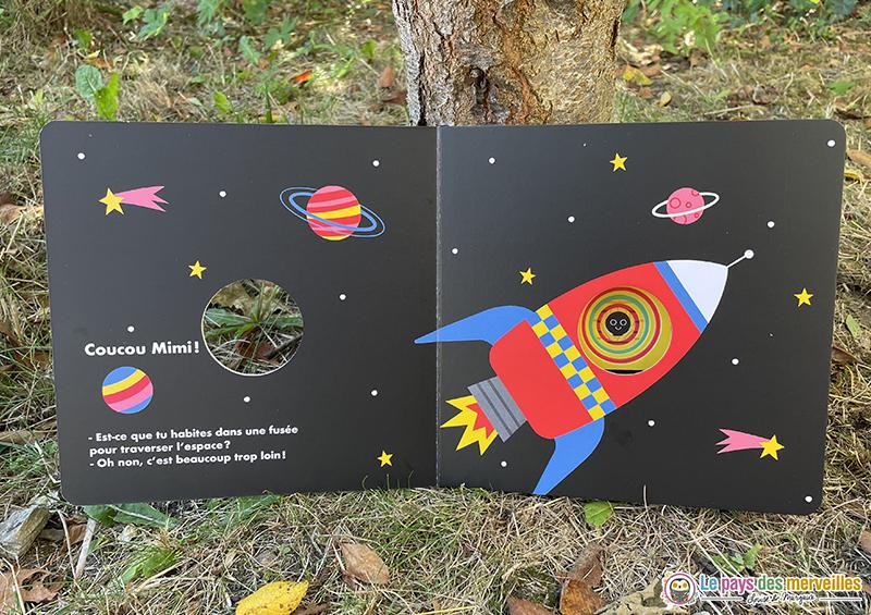 illustration d'une fusée par Gwé