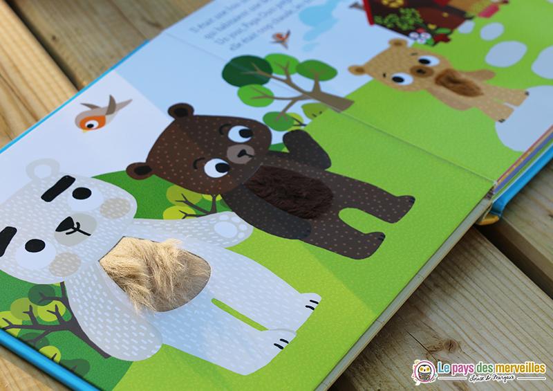 Livres à toucher ours