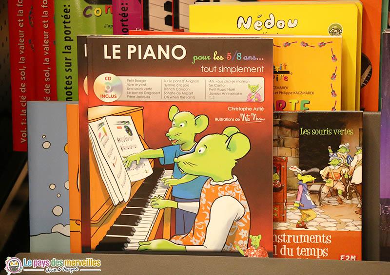 Le piano pour les 5-8 ans