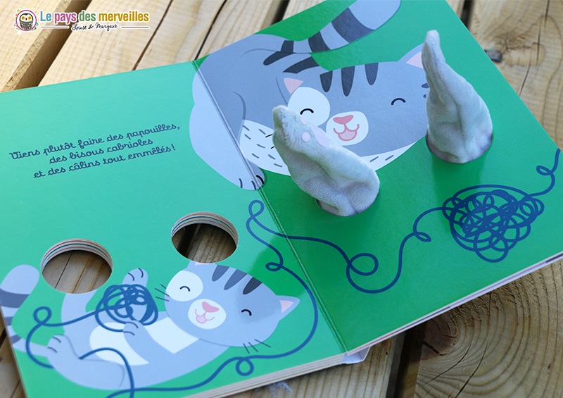livre marionnette bébé