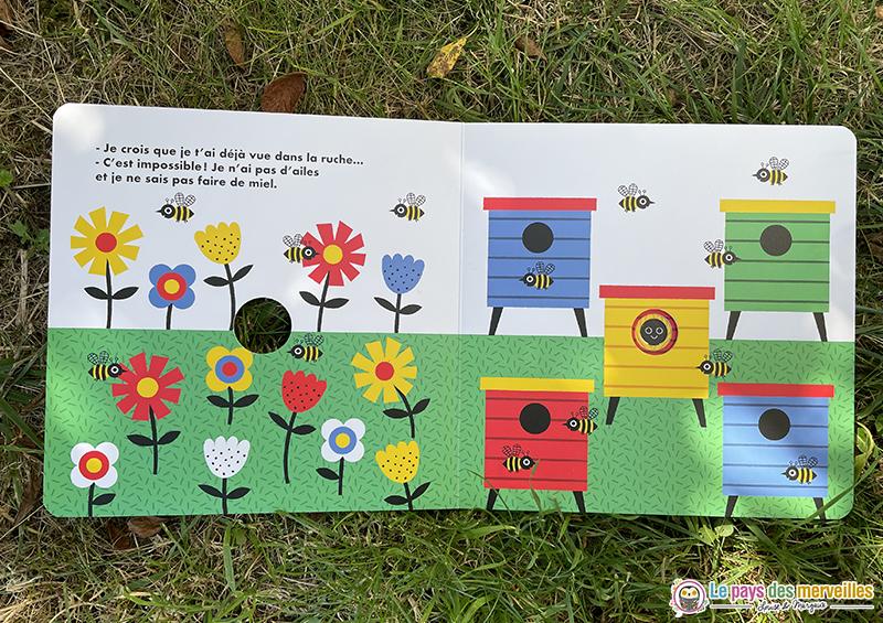dessins du livre cartonné Coucou ! aux éditions Nathan