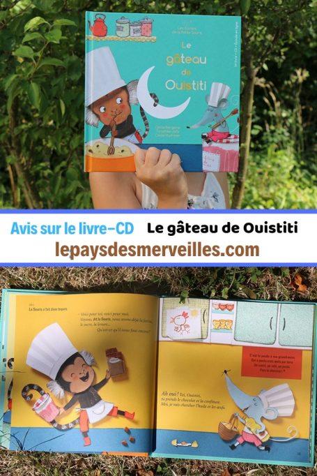 Livre-CD Le gâteau de Ouistiti