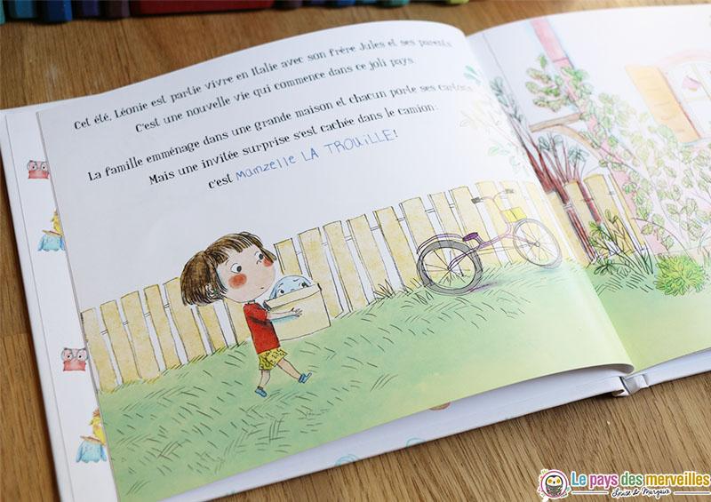 Illustrations de maurèen Poignonec dans le livre sur la peur