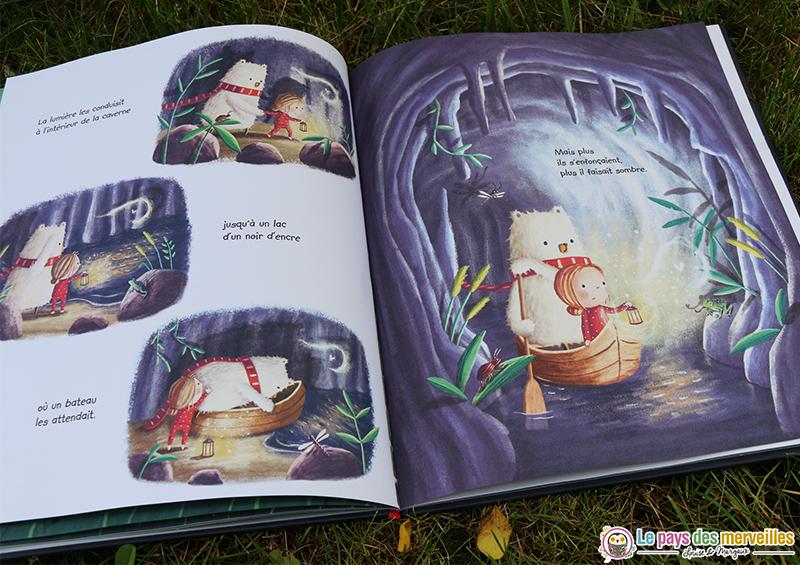 Livre enfant sur le thème de la peur du noir