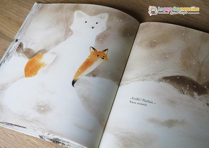 Album pour enfant sur le thème des saisons