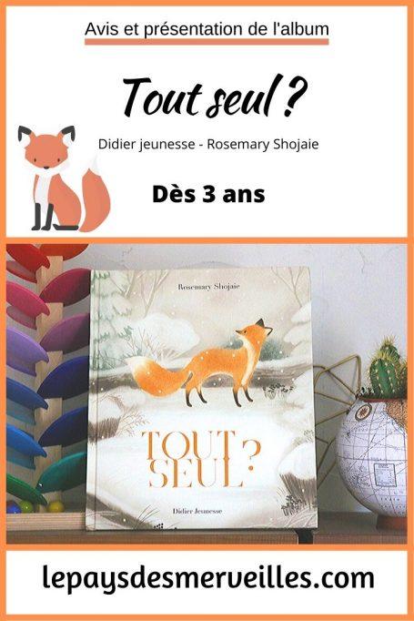 Livre Tout seul ? aux éditions Didier jeunesse