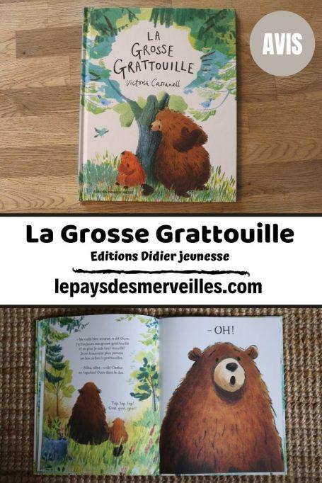 Livre pour enfant La Grosse Grattouille