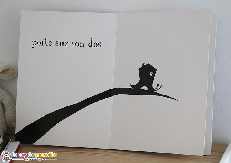 Petit Escargot de Thierry Dedieu collection bon pour les bébés