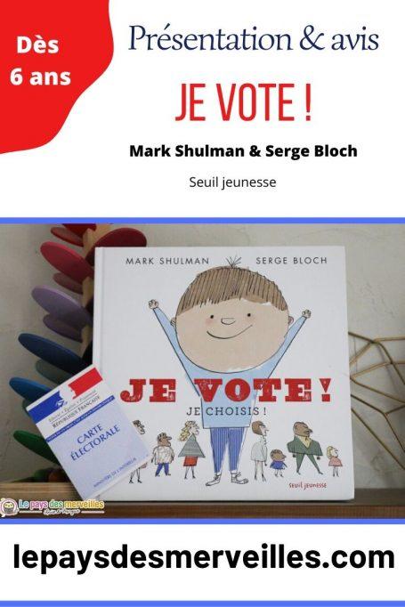 Livre Je vote ! Je choisis !