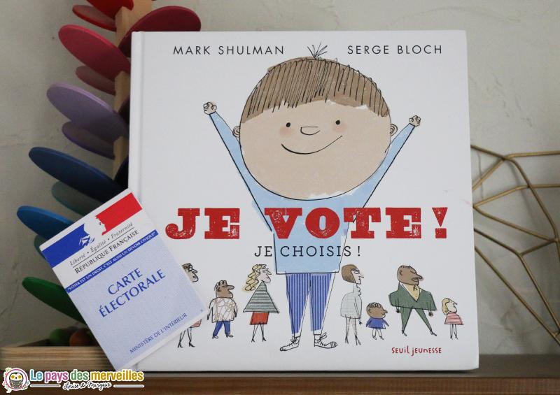 Je vote Je choisis éditions Seuil jeunesse