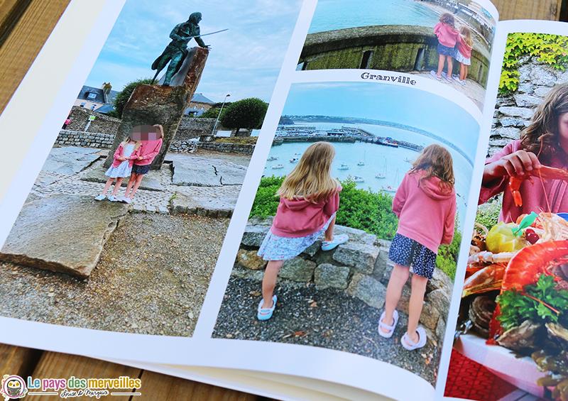 livre photo souvenirs de vacances