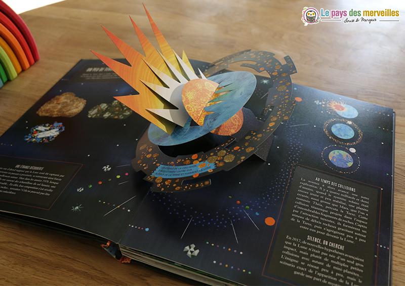 beau livre sur le thème de l'espace