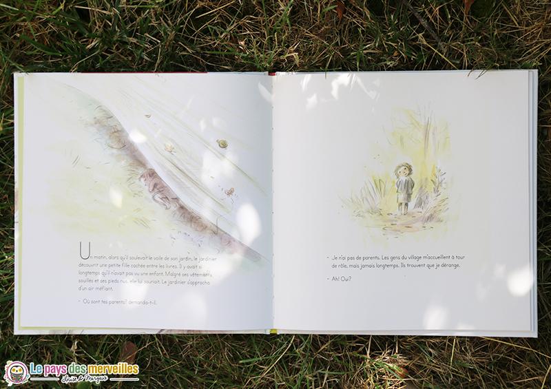 illustrations Le jardinier qui cultivait des livres