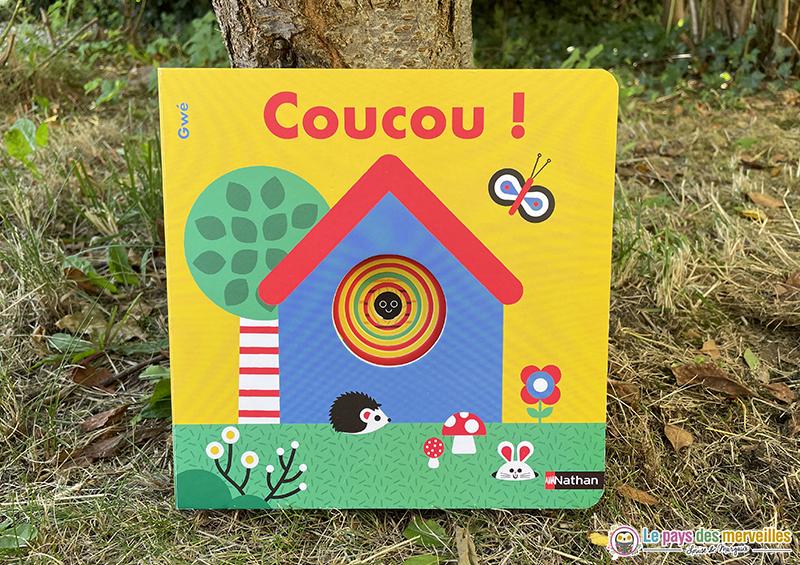 Livre cartonné Coucou ! illustré par Gwé