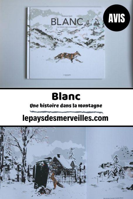 Livre Blanc une histoire dans la montagne