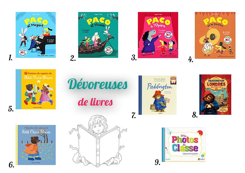 Idées de livres pour les enfants de 4 ans