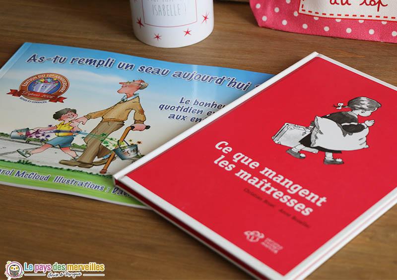 livres pour offrir à la maîtresse