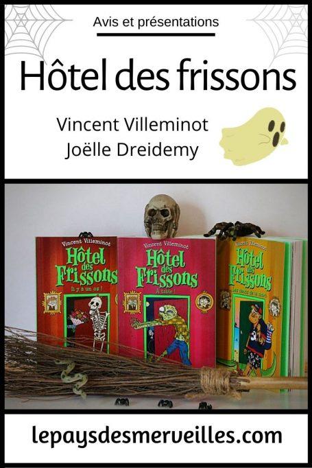 Hôtel des frissons, des livres pour les enfants qui aiment avoir peur