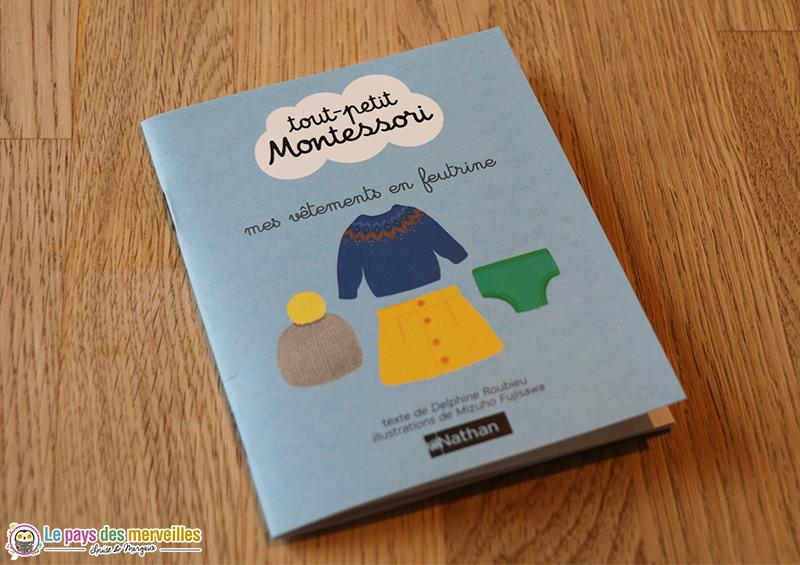 Livret explicatif vêtements en feutrine Montessori