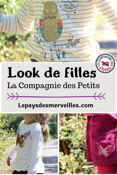 Look de filles La compagnie des petits