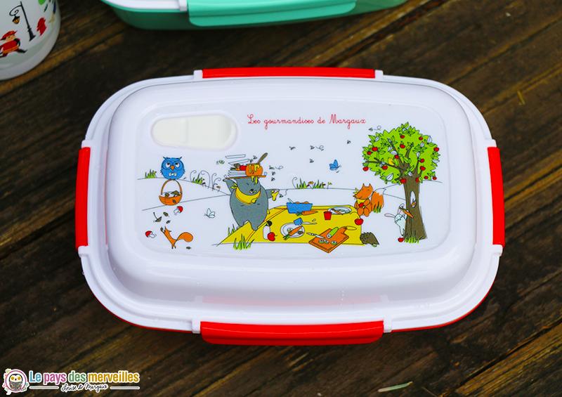 lunchbox personnalisée pique-nique animaux